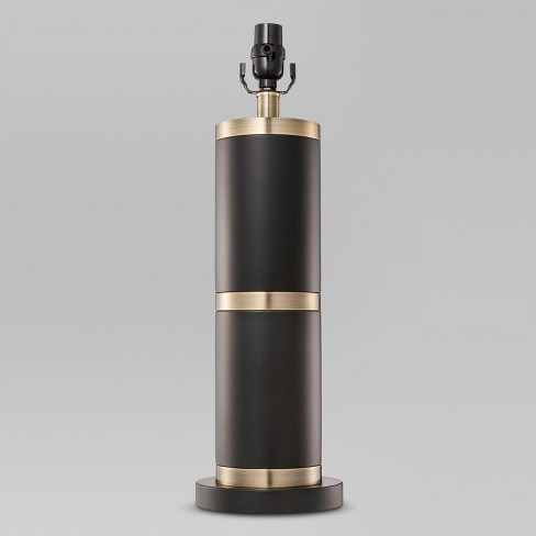 Franklin Lamp Base Large - Black/Brass (Includes CFL Bulb) - Threshold™ - image 1 of 1