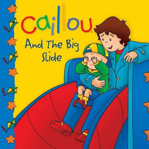 Caillou and the Big Slide - (Caillou 8x8) (Paperback) - image 1 of 1
