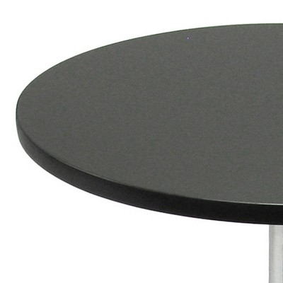 Spectrum Round Dining Table with Metal Base Wood/Black - Winsome