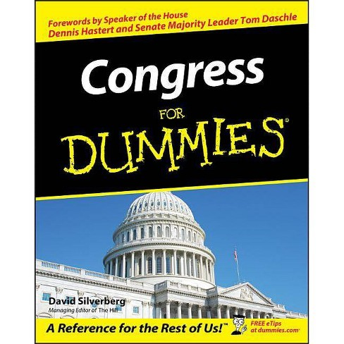 Congress for Dummies - (For Dummies) by  David Silverberg (Paperback) - image 1 of 1