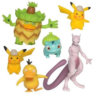 Pokémon Detective Pikachu Battle Figure Multipack (6-Pack)