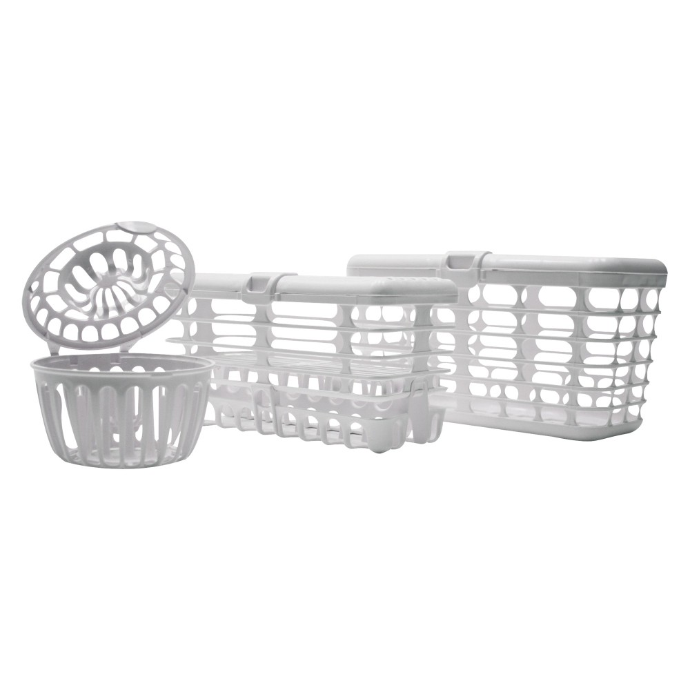 Image of Dishwasher Basket Combo Set, Clear