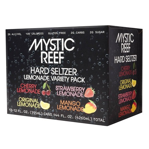Mystic Reef Hard Seltzer Lemonade Variety Pack - 12pk/12 fl oz Cans - image 1 of 3