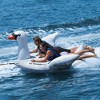 Swimline Solstice Water Inflatable Swan 1 to 2 Rider Boat Towable Tube (2 Pack) - image 4 of 4