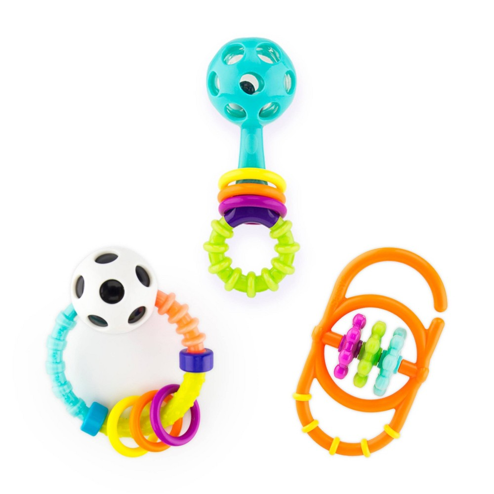 Image of Sassy My First Rattles Newborn Gift Set