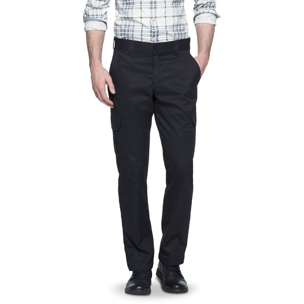 Dickies Men 39 S Flex Regular Fit Straight Leg Cargo Pants Black 34x30