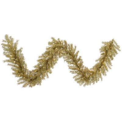 Vickerman Artificial Gold/Silver Tinsel Garland
