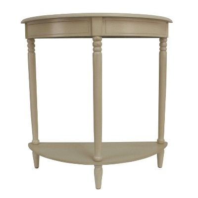 Simplify Half Round Accent Table - Décor Therapy