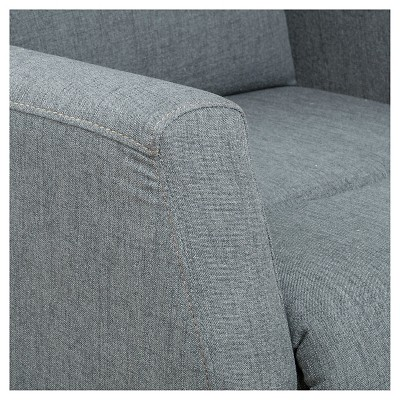 Tabahri Fabric Recliner Club Chair - Gray - Christopher Knight Home : Target