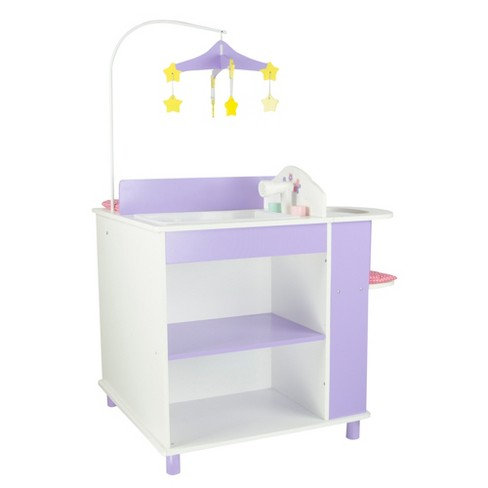 """Olivia's Little World - Little Princess 18"""" Doll Furniture - Baby Changing Station with Storage - image 1 of 4"""