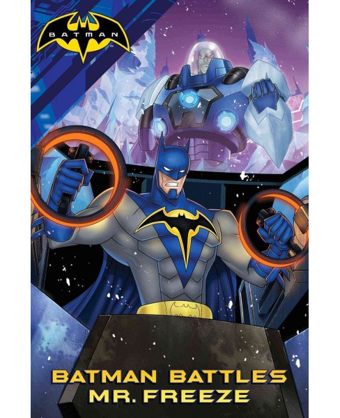 Batman Battles Mr. Freeze (Paperback) (Kevin Burke & Chris Wyatt) - image 1 of 1