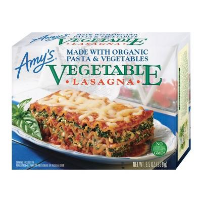 Amy's Vegetarian Frozen Organic Frozen Vegetable Lasagna - 9.5oz
