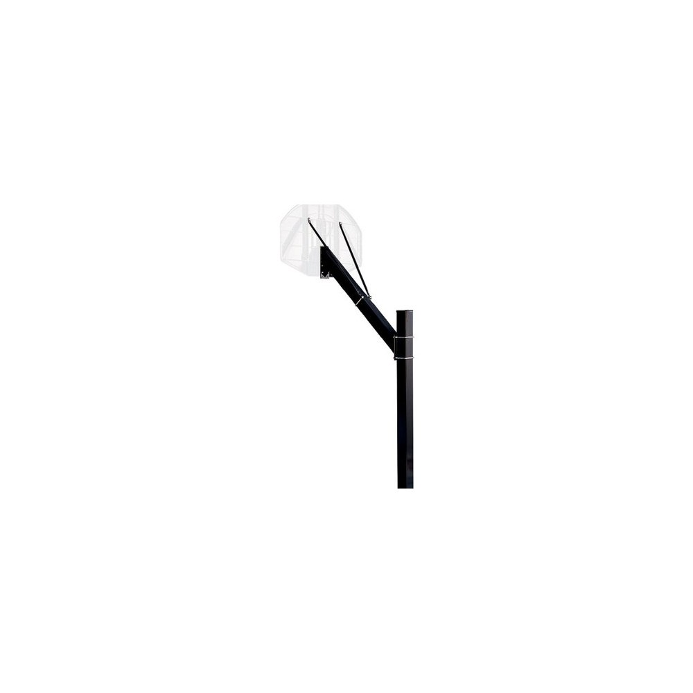 Spalding Square Extension Arm for 4 Pole, Black