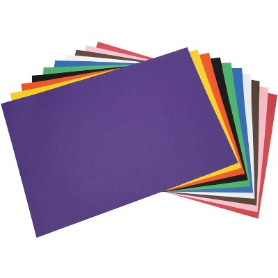 Tru-Ray Sulphite Construction Paper, 24 x 36 Inches, Assorted Color, pk of 50