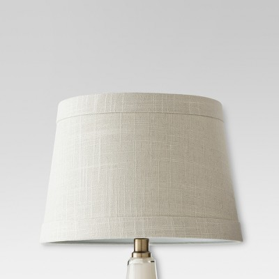 Textured Trim Small Lamp Shade Gray - Threshold™