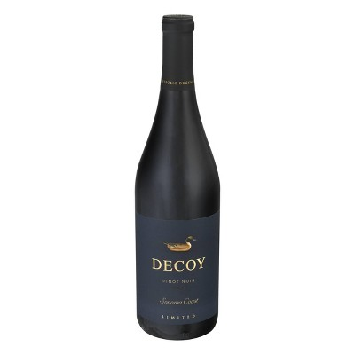 Decoy Limited Pinot Noir Red Wine - 750ml Bottle