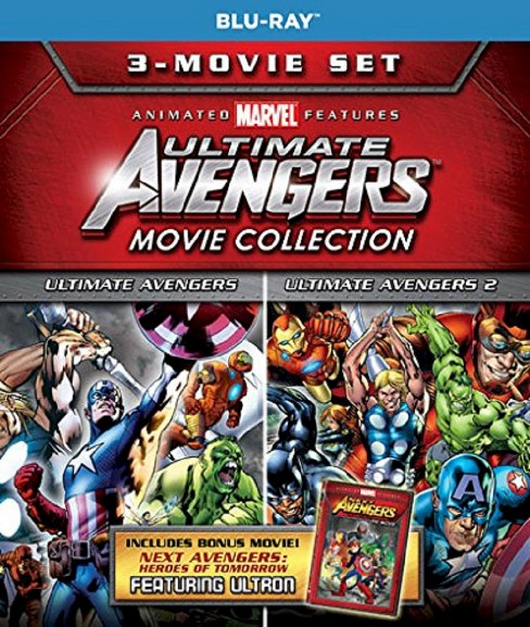 Ultimate avengers 3 move collection (Blu-ray) - image 1 of 1