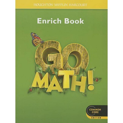 Go Math! Enrich Book, Grade 1 - (Paperback) - image 1 of 1