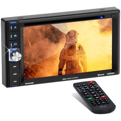 BOSS Audio Systems Bluetooth Car Dash Digital Touch Screen LED Monitor Receiver with DVD Player, Auxiliary Input, and AM/FM Tuner, 6.2 Inch