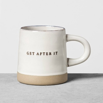 Stoneware Mug Get After It - Hearth & Hand™ with Magnolia