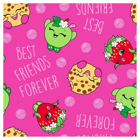 1b8c3047d Shopkins™ Best Friends Forever Fleece Fabric By The Yard   Target