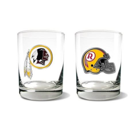 NFL Washington Redskins Rocks Glass Set - 2pc - image 1 of 1