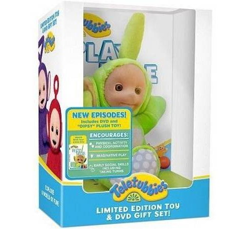 Teletubbies:Play Time/Plush (DVD) - image 1 of 1