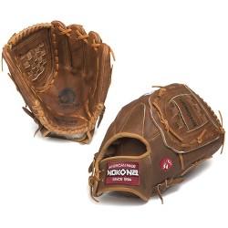 """Nokona 2020 Walnut Series 13"""" W-1300C Slowpitch Softball Glove"""