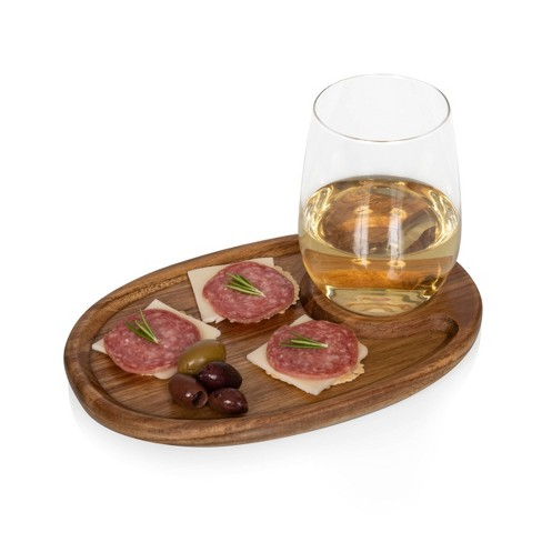 Wine Appetizer Plate Set - Picnic Time - image 1 of 4