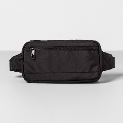 AntiTheft RFID Hip Sling Pack Black - Made By Design™