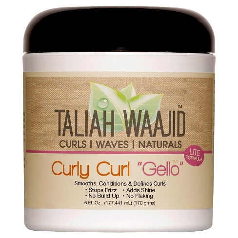 Taliah Waajid Curly Curl Quot Gello Quot Hair Mousses 6 Fl Oz