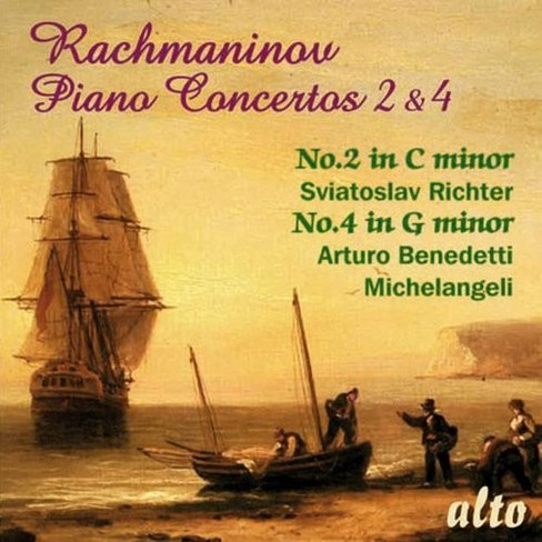 Arturo michelangeli - Rachmaninoff:Pno cons 2 & 4 (CD) - image 1 of 1