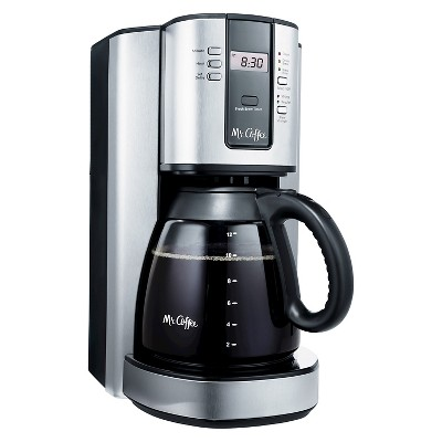 Mr. Coffee® 12 Cup Programmable Coffee Maker - Stainless Steel BVMC-TJX37
