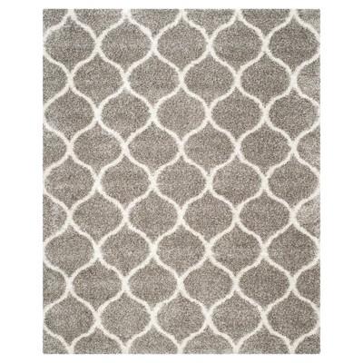 Hudson Shag Rug - Gray/Ivory - (8'X10')- Safavieh®