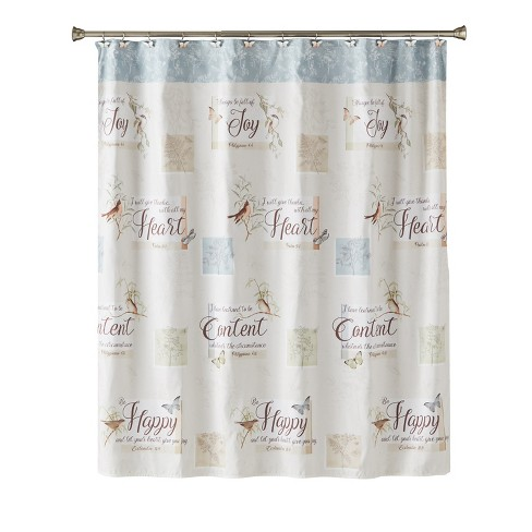 New Hope Shower Curtain Multi