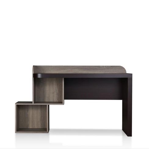 Groovy Quave Writing Desk Walnut Mibasics Spiritservingveterans Wood Chair Design Ideas Spiritservingveteransorg