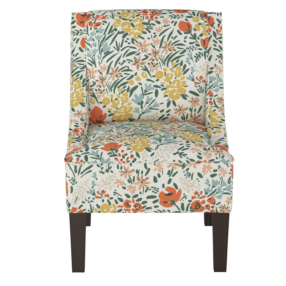 Accent Chairs Cream Floral - Project 62