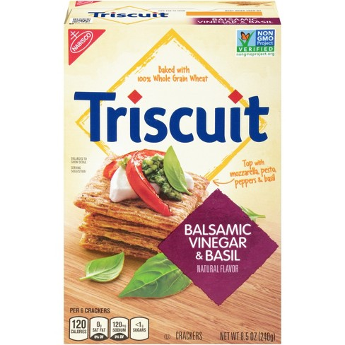Triscuit Balsamic Vinegar & Basil Crackers - 8.5oz - image 1 of 3