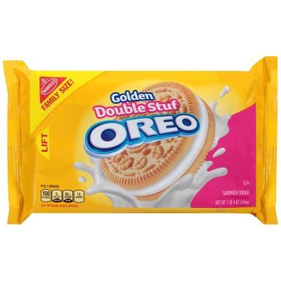 Golden Oreo Mega Stuff Sandwich Cookies