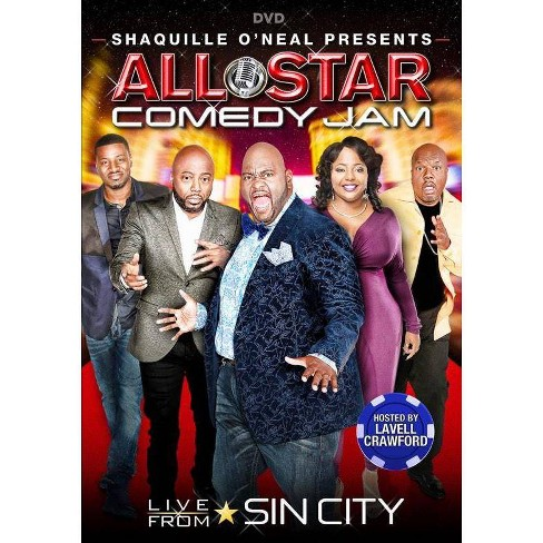 Shaquille O'neal: All Star Comedy Jam Live From Sin City (DVD) - image 1 of 1