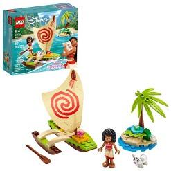 LEGO Disney Moana's Ocean Adventure Princess Building Playset 43170