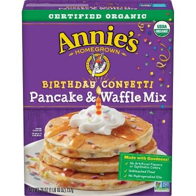 Annie's Homegrown Birthday Confetti Pancake & Waffle Mix - 26oz
