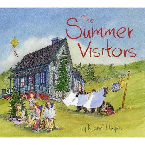 The Summer Visitors - by  Karel Hayes (Hardcover) - image 1 of 1