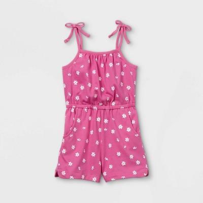 Toddler Girls' Tank Romper - Cat & Jack™