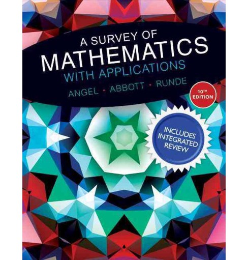 Survey of Mathematics With Applications (Student / Workbook) (Hardcover) (Allen R. Angel & Christine D. - image 1 of 1