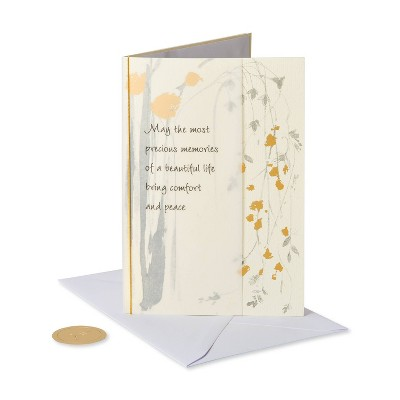 Cascading Flowers Card - PAPYRUS