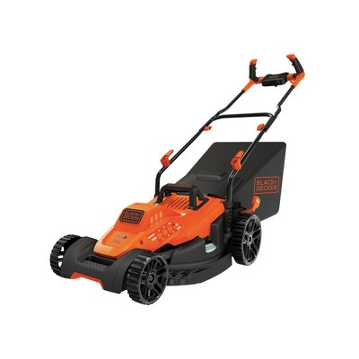 Black & Decker BEMW482BH 120V 12 Amp Brushed 17 in. Corded Lawn Mower with Comfort Grip Handle