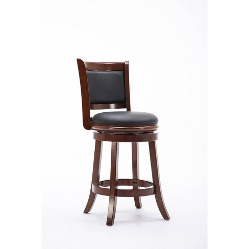 24 Augusta Swivel Counter Height, 24 Inch Height Chairs