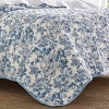 Laura Ashley Aimee Quilt Set Blue - image 4 of 4