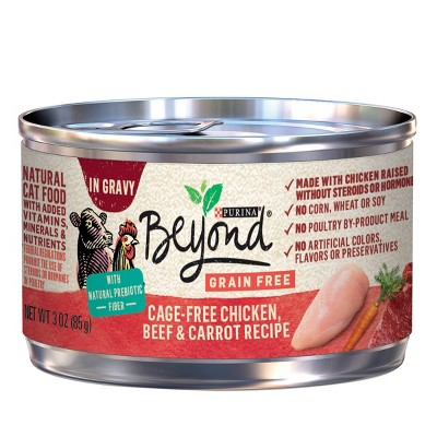 Purina Beyond Grain Free Wet Cat Food Can - 3oz